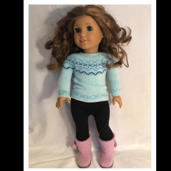 American Girl winter outfit